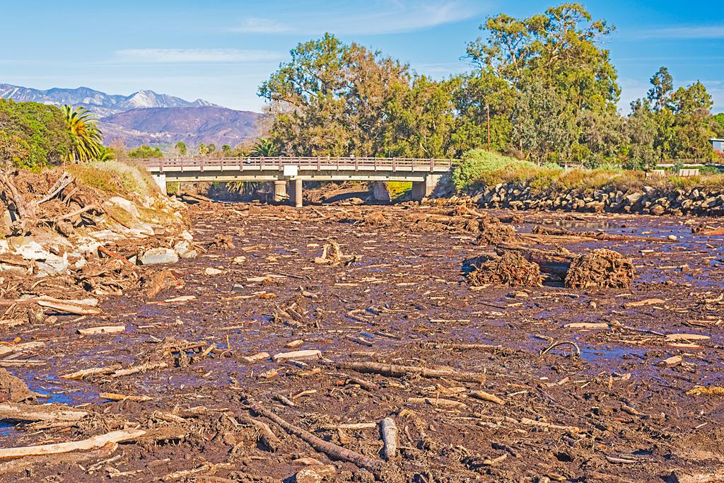 devastation of the California Thomas Fire
