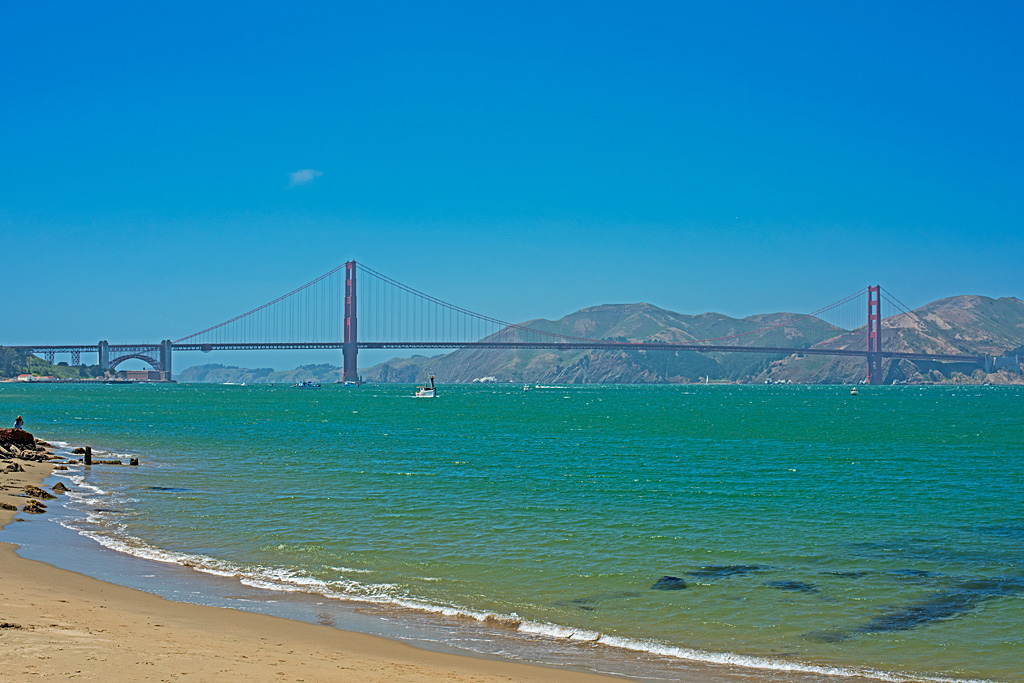 Travel Destination The Golden Gate Bridge